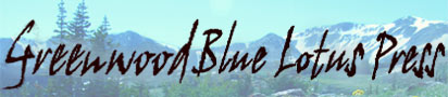 Greenwood Blue Lotus logo of North American mountains